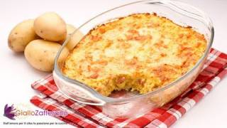 Potato cheese casserole ( potato gateau ) - recipe