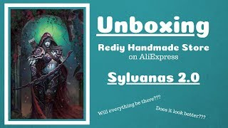 Diamond Painting - Unboxing - Sylvanas 2.0 - Rediy Handmade Store on AliExpress