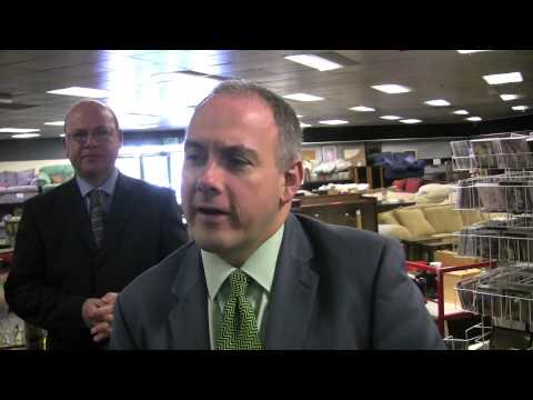 Energy Minister visits Ecco in Harlow