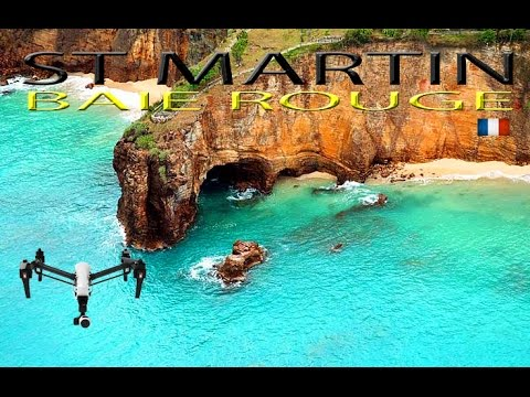 baie rouge cliffs saint martin epic drone caribbean youtube. Black Bedroom Furniture Sets. Home Design Ideas