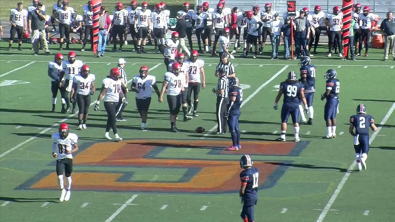 Snow College Football vs Glendale College 11-9-2013 - YouTube