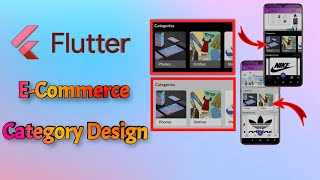 Flutter E-commerce Category widget design