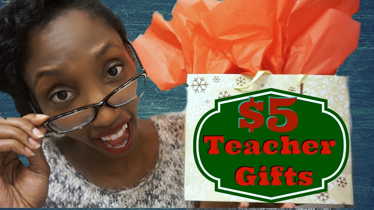 5 inexpensive christmas gifts for teachers