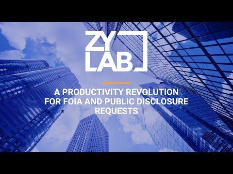 Webinar - A Productivity Revolution for PRA and FOIA Requests