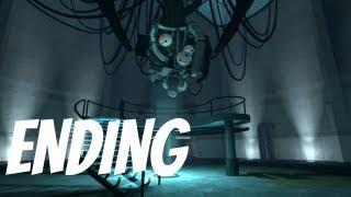 Portal: Still Alive ENDING Walkthrough Gameplay (Xbox 360/PS3/PC)
