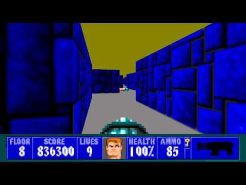 Wolfenstein 3D - Episode 4, Floor 8
