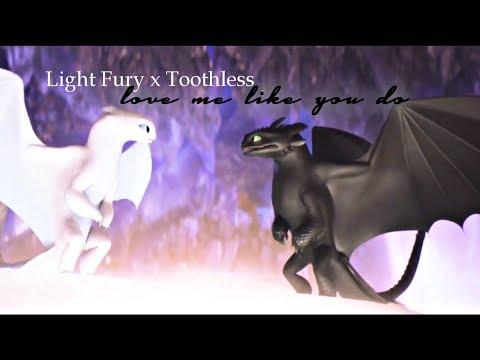 Light Fury X Toothless {Love Me Like You Do} AMV