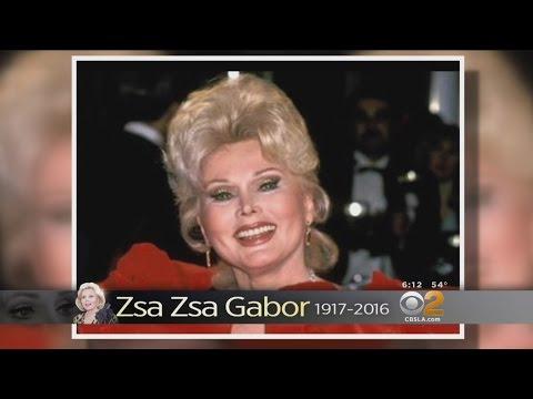 Socialite, Celebutante Zsa Zsa Gabor Dead At 99