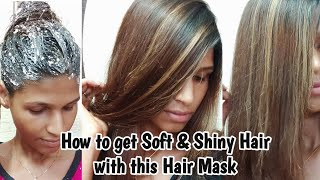 How to get Soft Shine Hair with this Mask within one wash control Hair loss softandshinehair