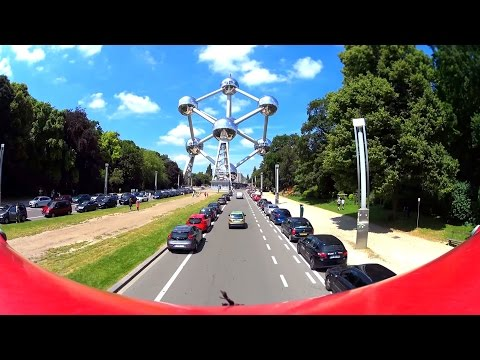 1 hour | CitySightseeing Brussels - Blue Line - Part I