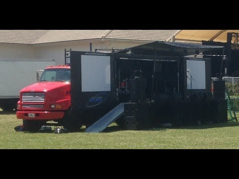 South Florida Sound Mobile Stage Truck