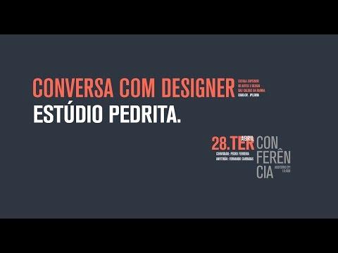APRESENTAÇÃO DE TRABALHO/ CONVERSA COM DESIGNER. ESTÚDIO PEDRITA.