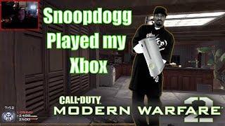 Timecast | [Call of Duty: Modern Warfare 2] #2 Snoop Dogg Played My Xbox!!!