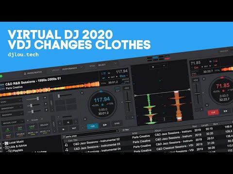 Virtual DJ 2020 - VDJ Changes Clothes