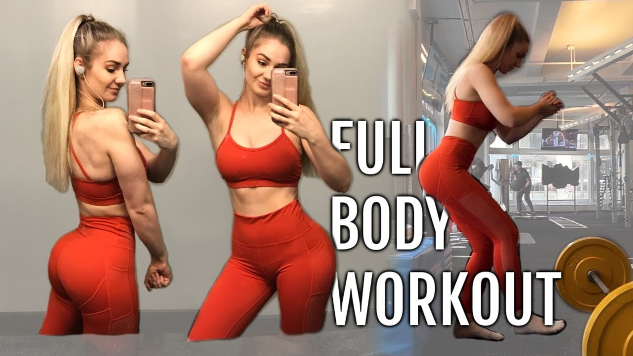 FULL BODY WORKOUT FOR A CURVY HOURGLASS FIGURE