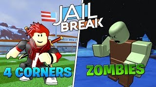 Roblox Jailbreak Live!🔴| NEW Four Corners Gamemode! & PLAGUE/Zombie| Come Join me! 😄💖