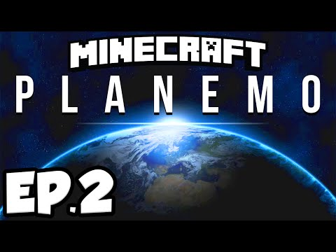 Minecraft: Planemo Ep.2 - TRAPPED IN SPACE!!! (Minecraft 1.9 Adventure Map)