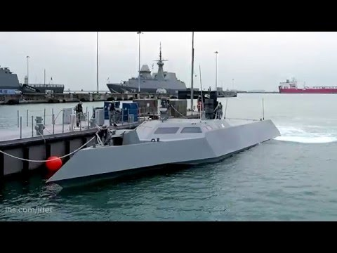 Singapore Navy's new high speed naval interceptor Specialised Marine Craft