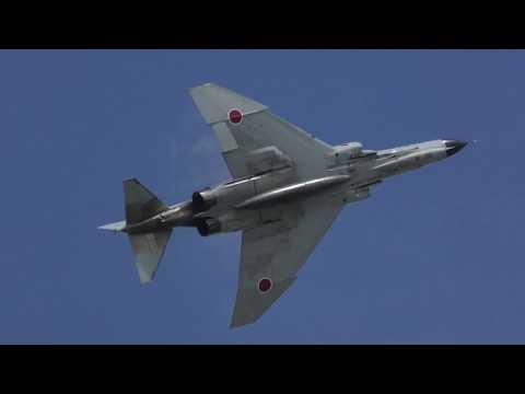 【小松基地航空祭 2018】岐阜っ子が大暴れ!!! F-4 PHANTOM & F-2 戦闘機 機動飛行 & AGG / JASDF KOMATSU AIR SHOW 20180917