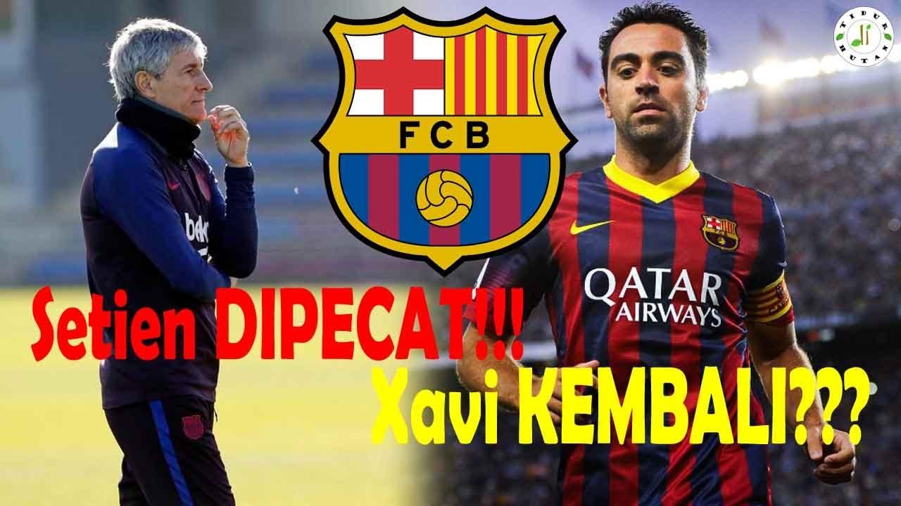 DIPECAT!!! 5 Calon Pelatih Baru Barcelona Pengganti Quique Setien
