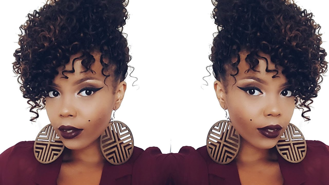 Illusion Crochetbraids Faux Updo Outre 4 In 1 Crochet