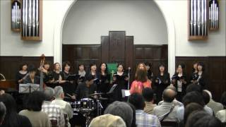"Minami Jazz Vocal Ensemble 2012 directed by Kaoru Azuma ""In A Mellow Tone"" arranged by Kirby Shaw Osaka, Japan 10/28/2012 ミナミ・ジャズヴォーカル・ ..."