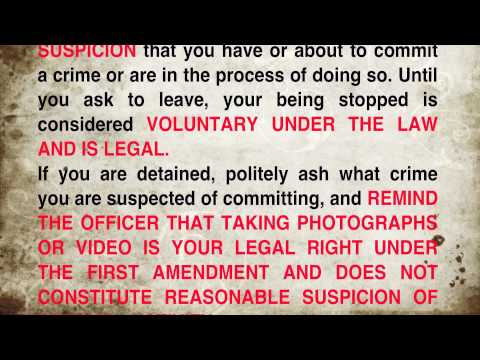 PHOTOGRAPHERS LEGAL RIGHTS