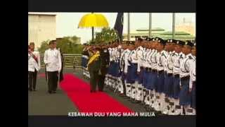 Negara Brunei Darussalam National Anthem ~ Allah Peliharakan Sultan (God Bless the Sultan) Lyrics