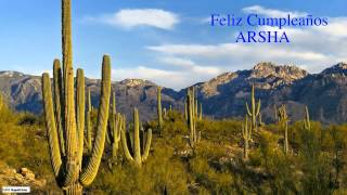 Arsha  Nature & Naturaleza - Happy Birthday