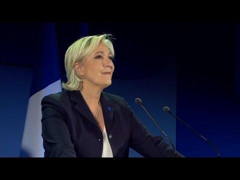 Présidentielle 2017: la déclaration de Marine Le Pen en intégralité