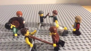 The Life of a Roman Soldier (The Lego Version)