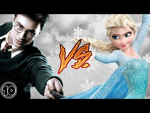 Harry Potter vs Elsa