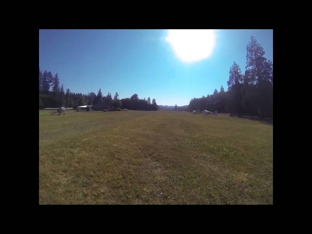Landing @ Flying M Ranch from the