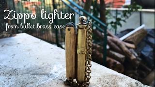 Homemade lighter from bullet case