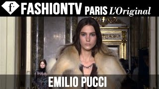 Emilio Pucci Fall/Winter 2014-15 FIRST LOOK | Milan Fashion Week | FashionTV