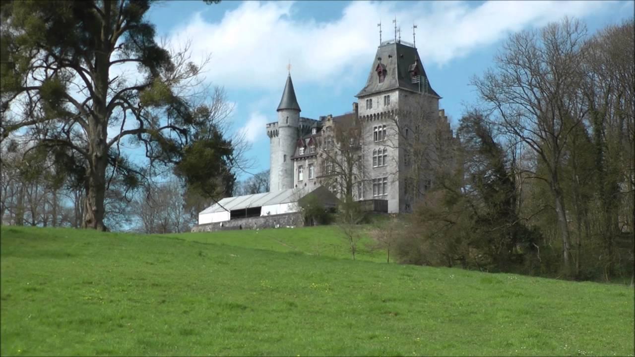 les chateaux et belle maison en belgique - YouTube