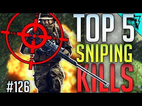 Battlefield 4 TOP 5 Impossible Sniping Kills? (Collateral, Wallbang, Aggressive Sniper) WBCW #126