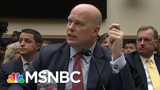 Democrats Call Acting AG Matt Whitaker Back To 'Clarify' Testimony | The Last Word | MSNBC