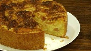 Венский яблочный пирог - нежное песочное тесто и сочная яблочная начинка.