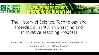 The History of Science, Technology and Interdisciplinarity: An Engaging and Innovative Proposal
