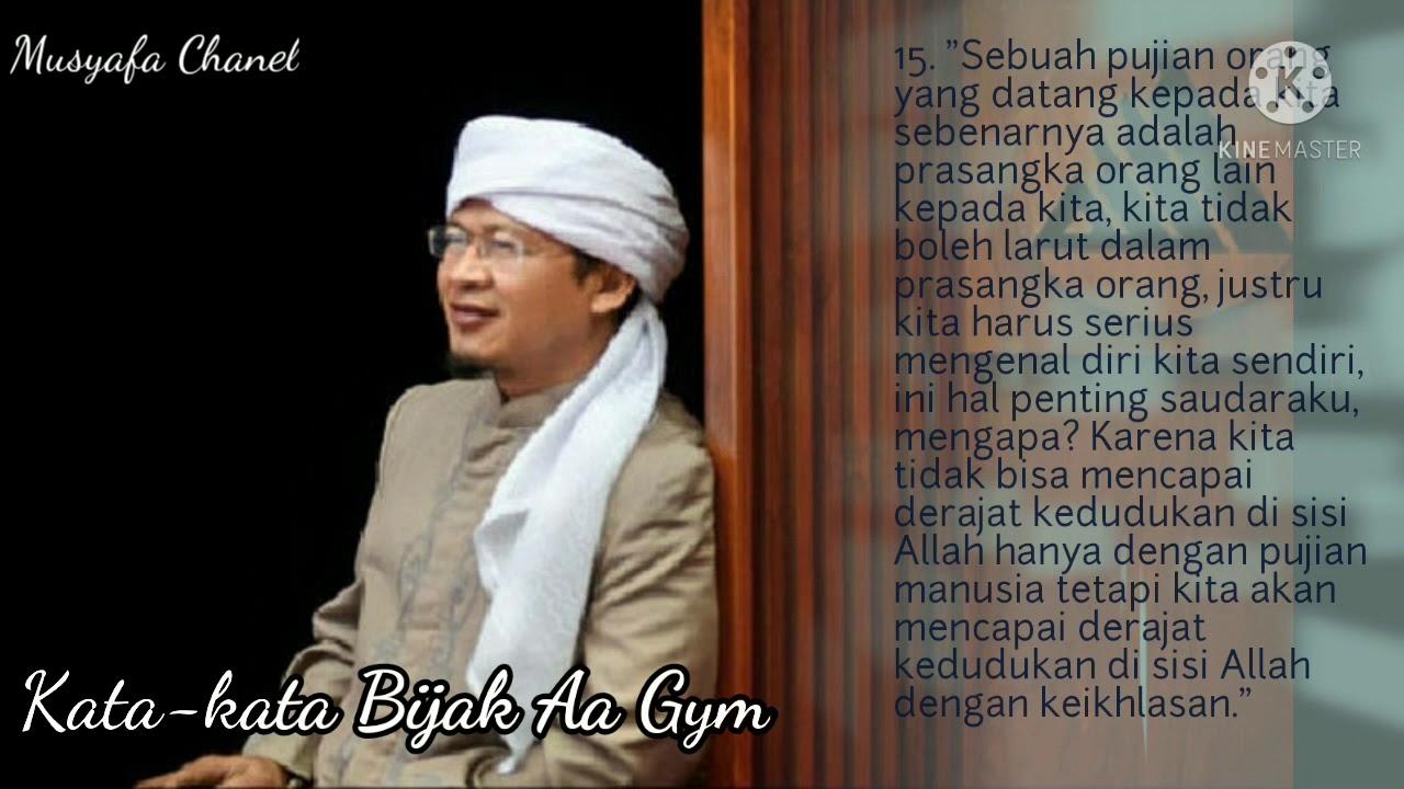 Gambar Kata Kata Mutiara Aa Gym Terbaru Islamic Quotes Kata Kata Mutiara Kata Kata Indah