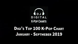 Top 100 K-Pop Chart - January-September 2019 (Digi's Picks)