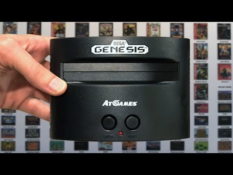Sega Genesis Classic Game Console 2016 - Mike & Bootsy