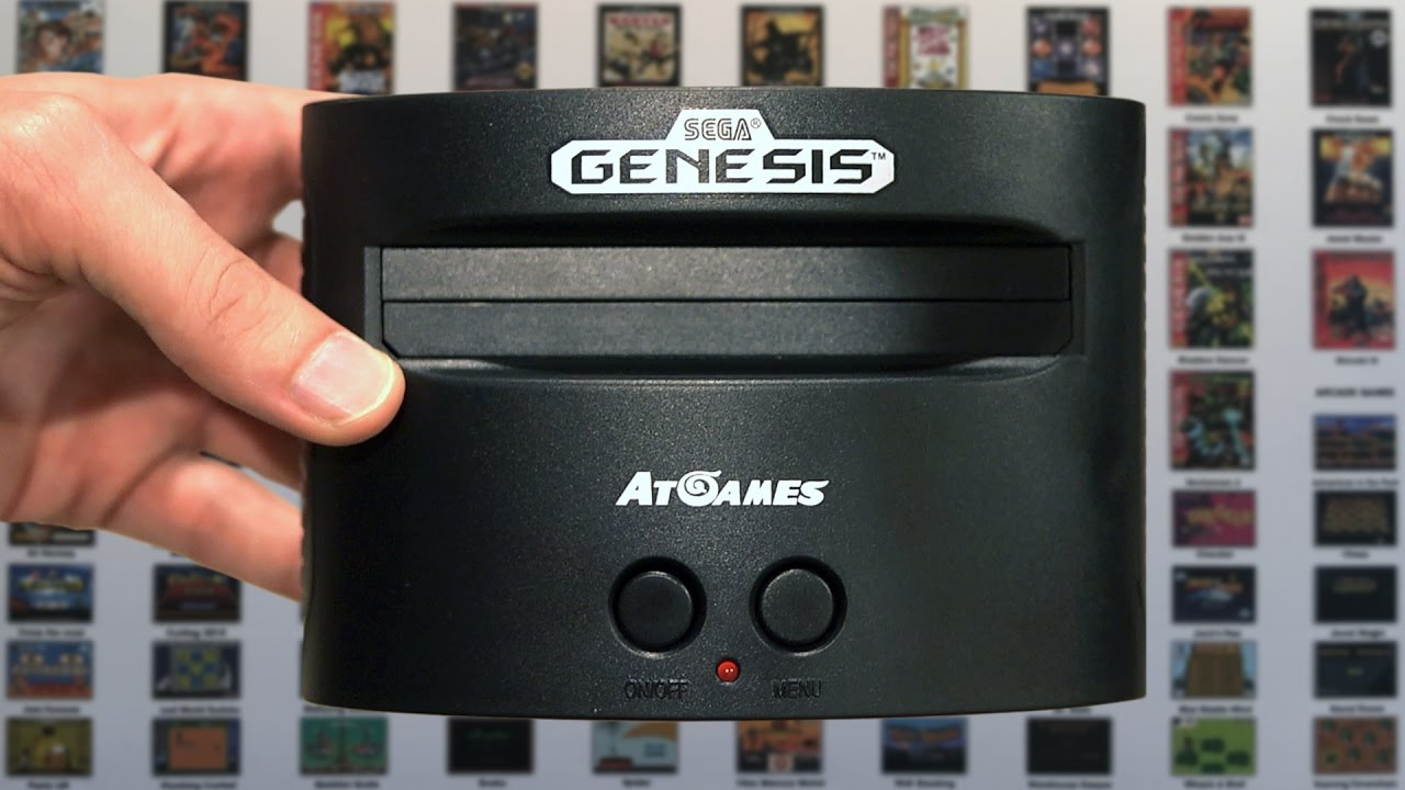 Sega Genesis Classic Game Console 2016 Mike Bootsy Youtube