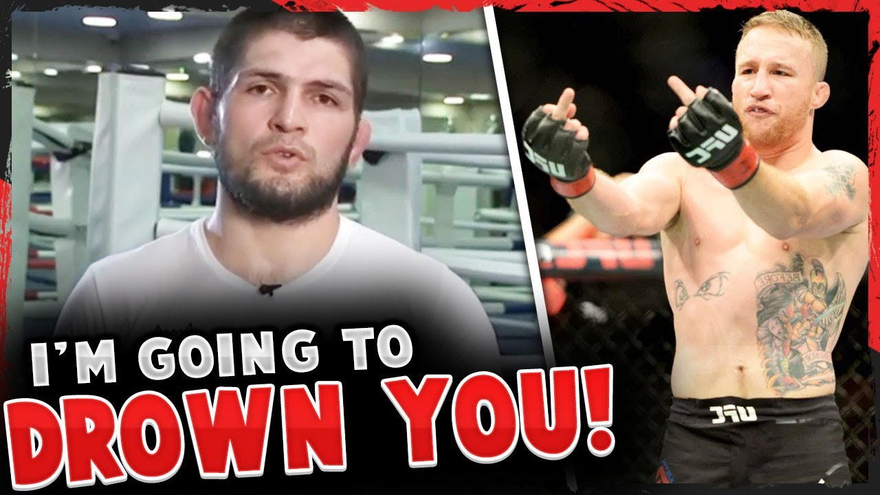 Khabib sends a personal message to Justin Gaethje, Conor McGregor on Nate Diaz, Daniel Cormier