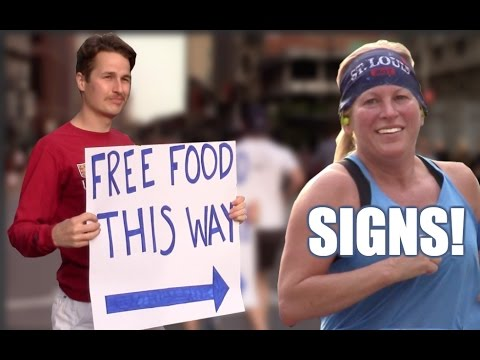 30 Types of Signs Runners See at Races