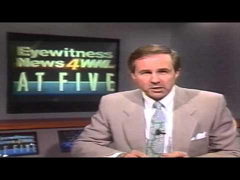 Bill Elder WWL-TV Ch4 NEWSBREAK 1989 New Orleans