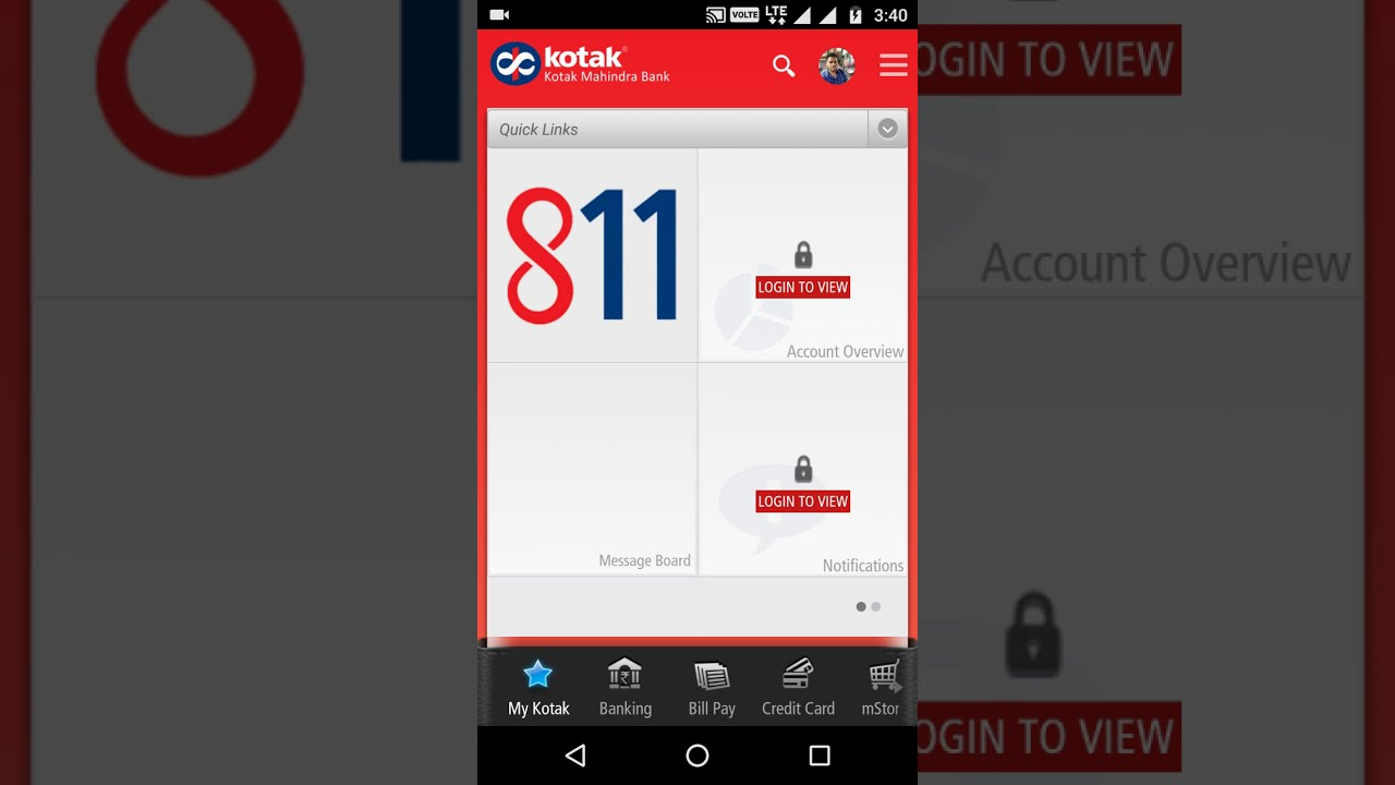 How to transfer money from kotak 811 to any other bank - YouTube