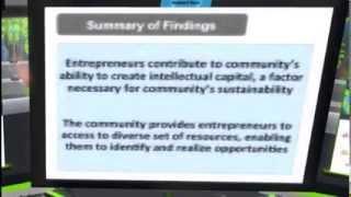 OSCC13 - Open entrepreneurship Exploring how entrepreneurs build social capital