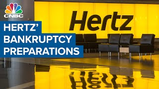 Hertz hires firm for bankruptcy preparation: Report